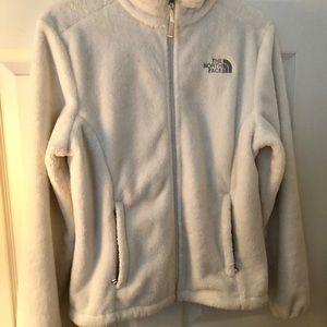 The North Face Jackets & Coats - North Face white fleece jacket